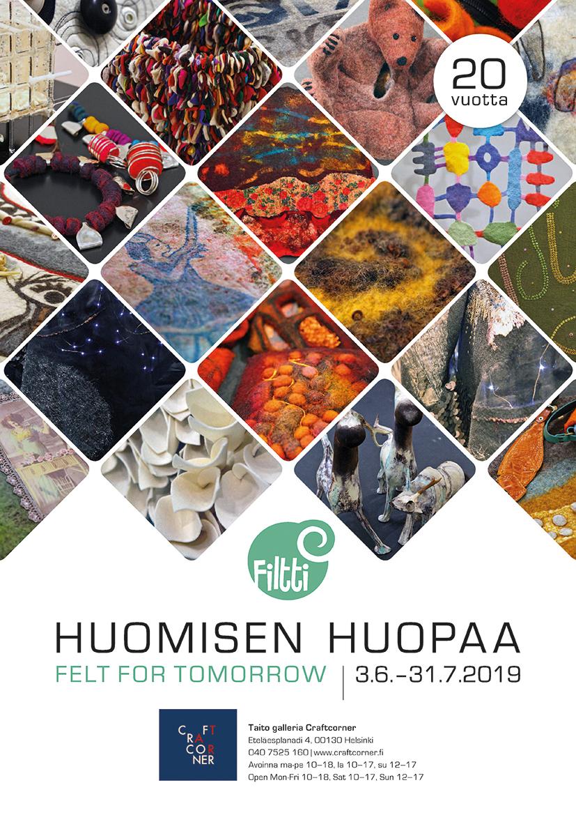 3.6. – 31.7.2019 Huomisen huopaa Helsingissä